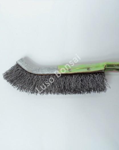 Escova de Jin curva em ferro 230mm - Ryuga