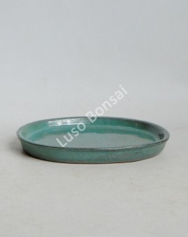Prato oval 16x14x1.5 cm Verde