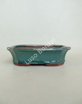 Vaso Rectangular 18,5x14,5x7 cm Verde