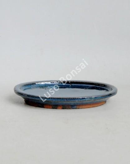 Prato oval 18.5x13x2 cm Azul