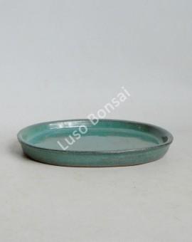 Prato oval 26x21x2 cm Verde