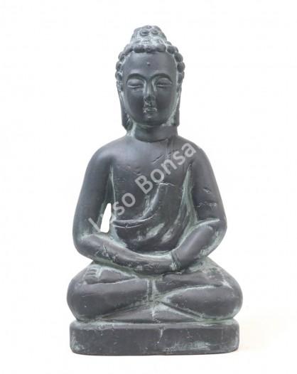 "Buddha Cerâmico Grande ""Sitting"""