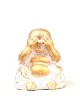 "Buddha Cerâmico Pequeno ""No See"""
