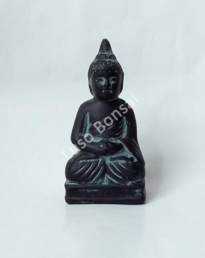 "Buddha Cerâmico Mini ""Sitting"""