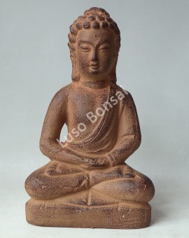 "Buddha Cerâmico Médio""Sitting"""