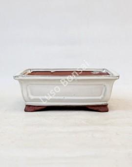 Vaso Rectangular 21x16x7,5 cm Creme